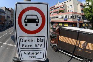 Франкфурт підтримав відмову від дизельних автомобілів
