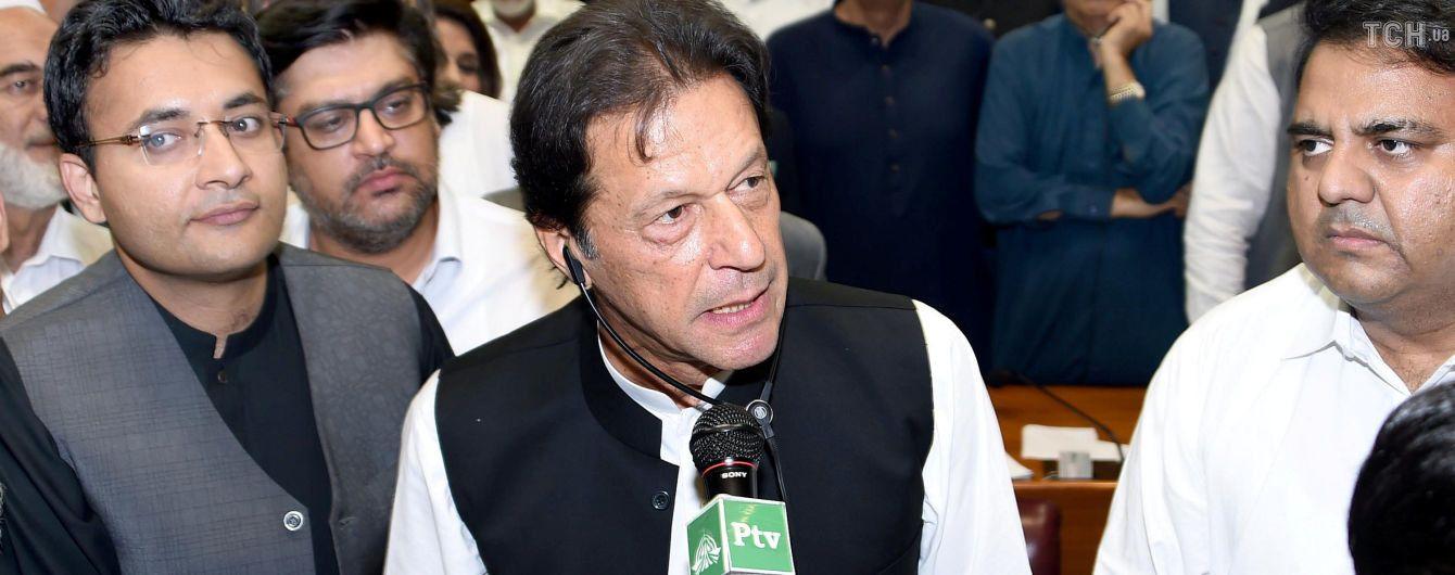 Новим прем'єром Пакистану став колишній гравець у крикет