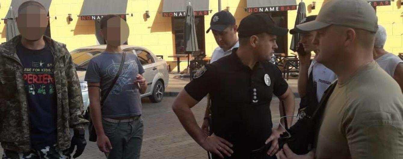 В Одессе во время ЛГБТ-марша на активистов напали неизвестные в камуфляже
