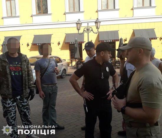 В Одесі під час ЛГБТ-маршу на активістів напали невідомі у камуфляжі