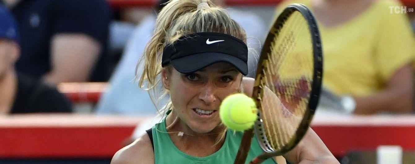 Свитолина в двухдневном матче потерпела поражение от китаянки и вылетела с турнира в Гонконге