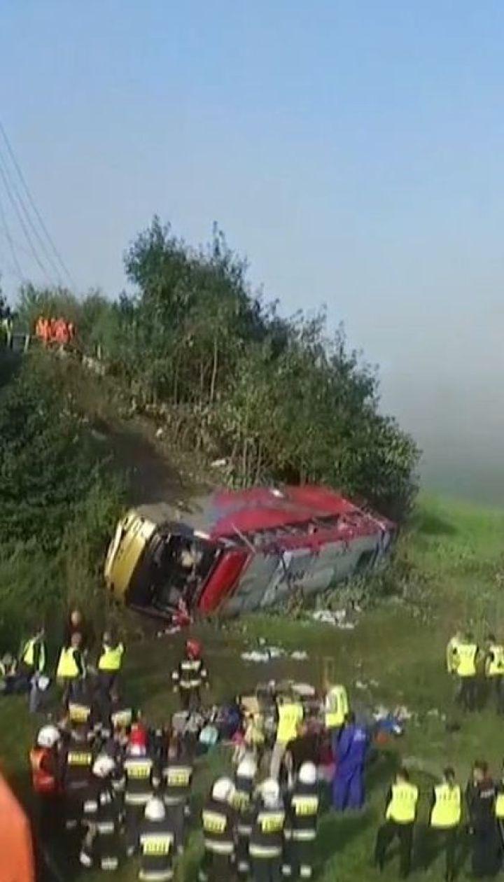 Туристический автобус с украинцами попал в ДТП в Польше, трое погибших