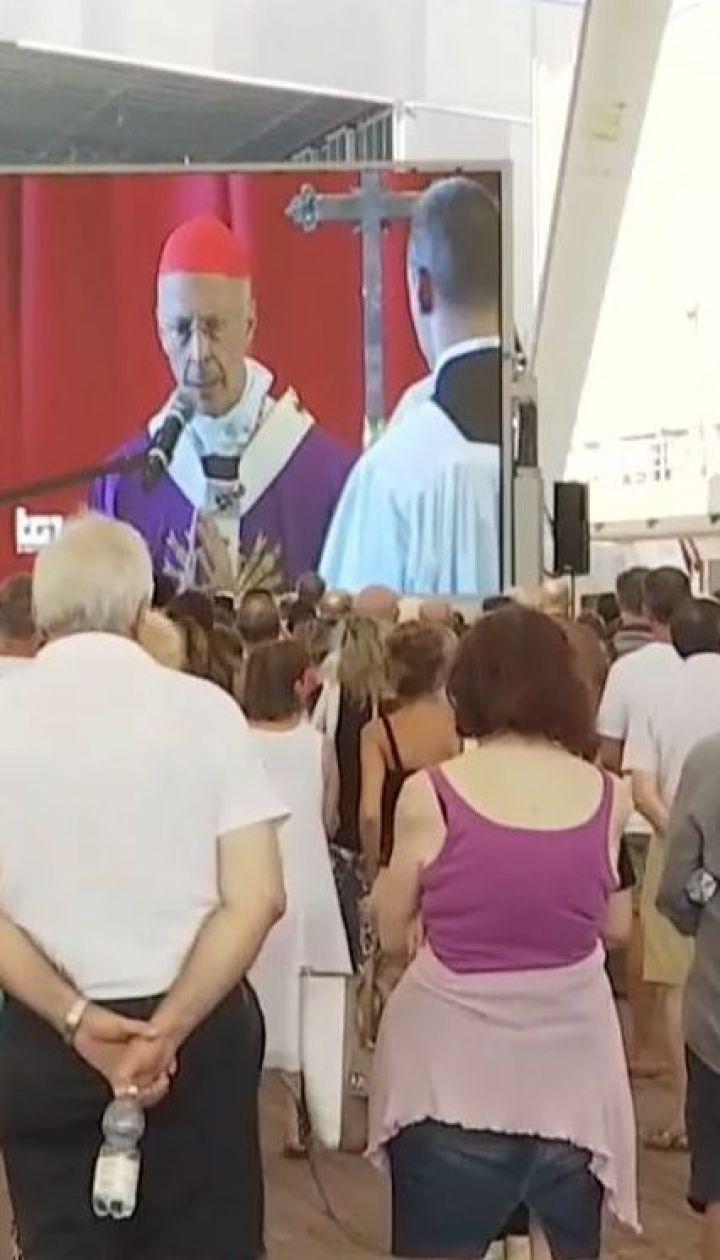 Падение моста в Генуе: в Италии попрощались с первыми жертвами трагедии
