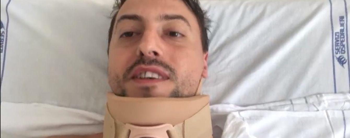 Українка та її чоловік, які вижили під завалами мосту в Генуї, записали перше відео з лікарні