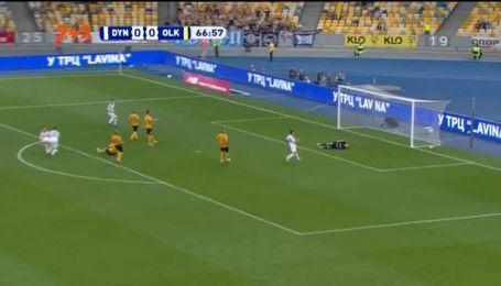 Динамо - Александрия - 1:0. Видео гола Цыганкова