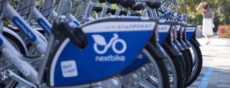 В Киеве на горячем поймали воров велосипеда с сети пунктов проката