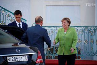 Меркель и Путин обсудили Керченский кризис и транзит газа через Украину