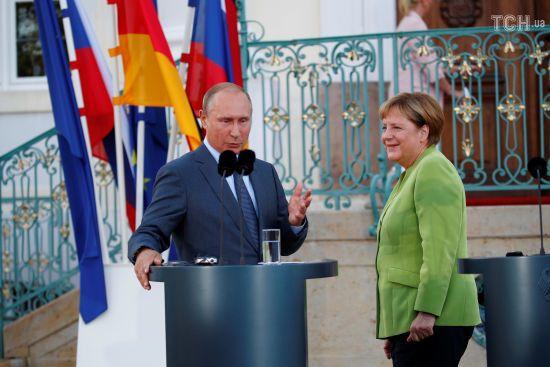 Путін та Меркель не домовились про об'єми транзиту газу Україною – Кремль