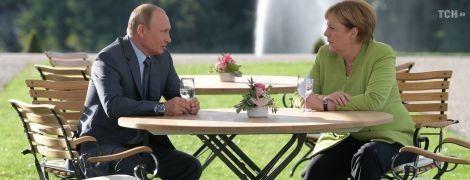 У Німеччині завершилися 3-годинні переговори Меркель і Путіна: про що вони говорили