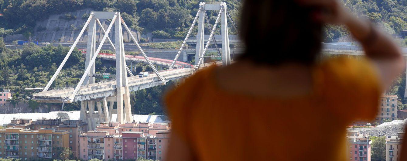 Поисковая операция возле моста в Генуе завершилась. Количество погибших возросло