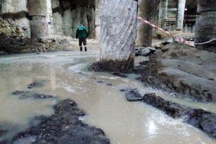 Раскопки древнего Киева на Почтовой площади залило рекордным количеством воды