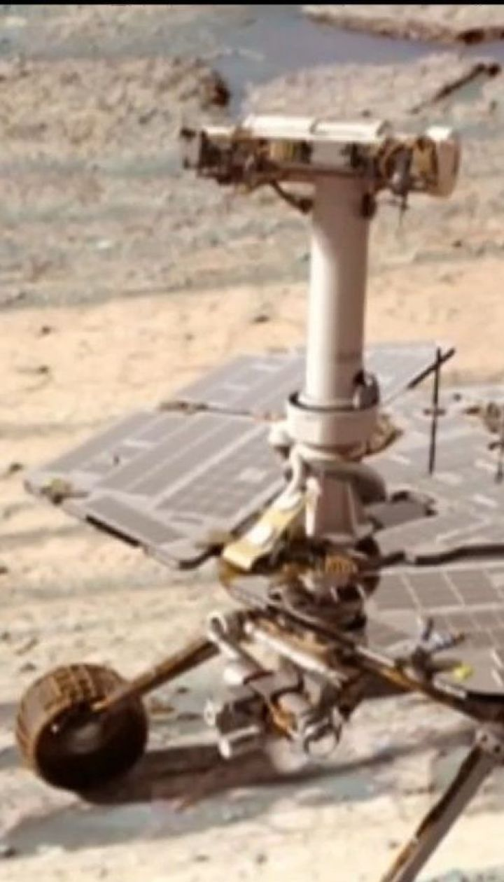 Через потужну пилову бурю на Марсі загубився марсохід