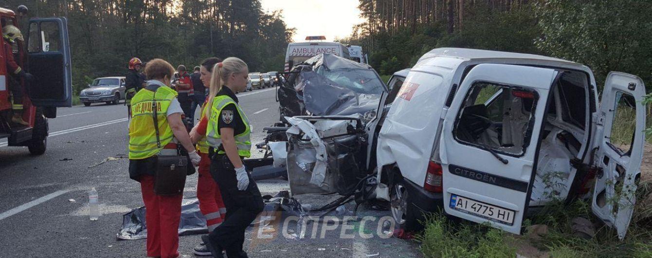 Полиция выяснила, кто виноват в ДТП с четырьмя погибшими на Новоирпенской трассе