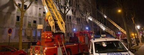 В пригороде Парижа вспыхнул пожар: десятки пострадавших