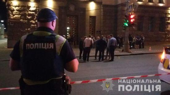 Поліція назвала ім'я стрільця у Харкові, який вбив дружину та відкрив вогонь у мерії