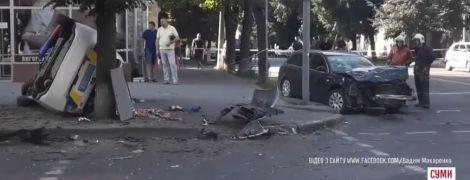 ДТП в Сумах: свідки стверджують, що поліцейське авто пізно ввімкнуло сирену