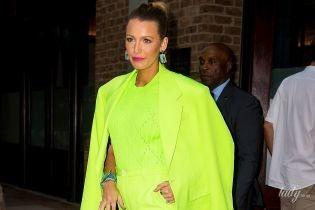 В ярком костюме от Versace: Блейк Лайвли сходила на вечеринку