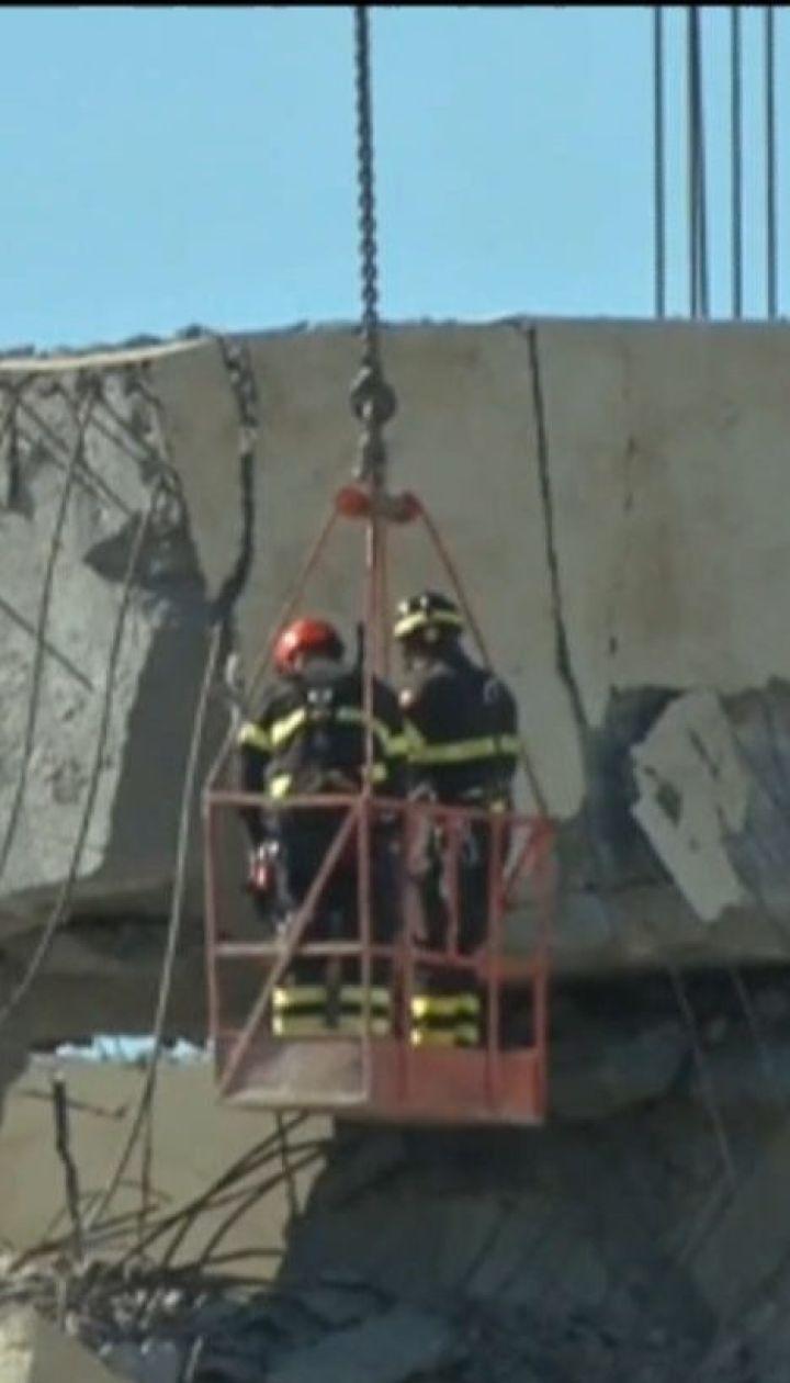 У Генуї за 8 місяців планують побудувати новий міст на місці зруйнованого
