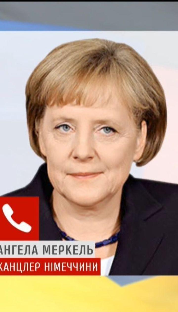 Порошенко поговорил по телефону с Ангелой Меркель о миротворческой миссии и Сенцове