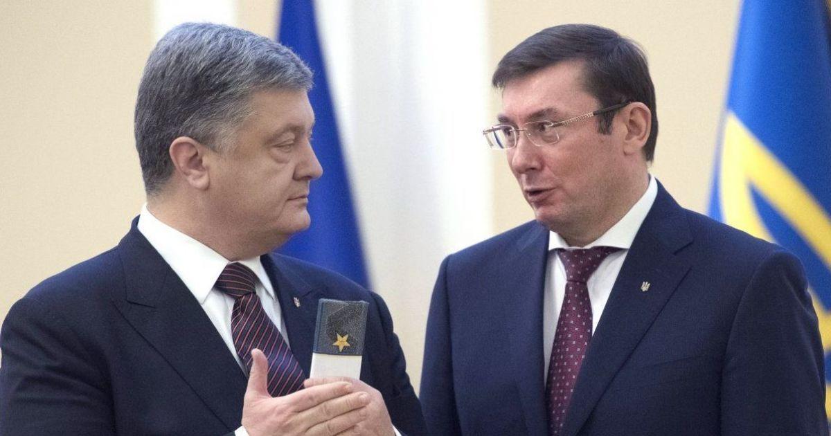 Луценко уверяет, что после встречи с ним Порошенко решил уволить Гладк