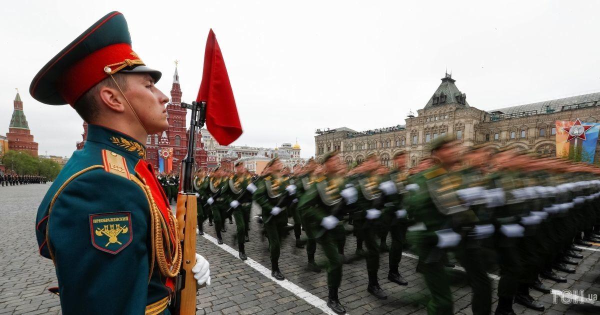 Фото репетиції параду