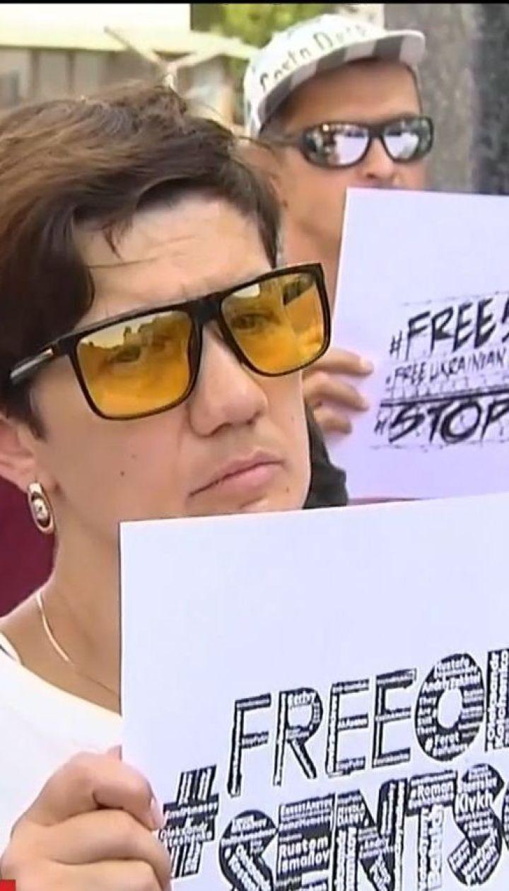 Сто дней голодовки: в Киеве и Львове продолжаются акции поддержки Олега Сенцова