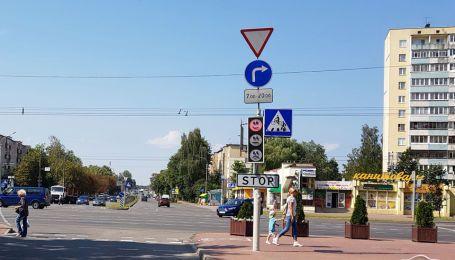 У Білорусії невідомі пожартували над світлофором