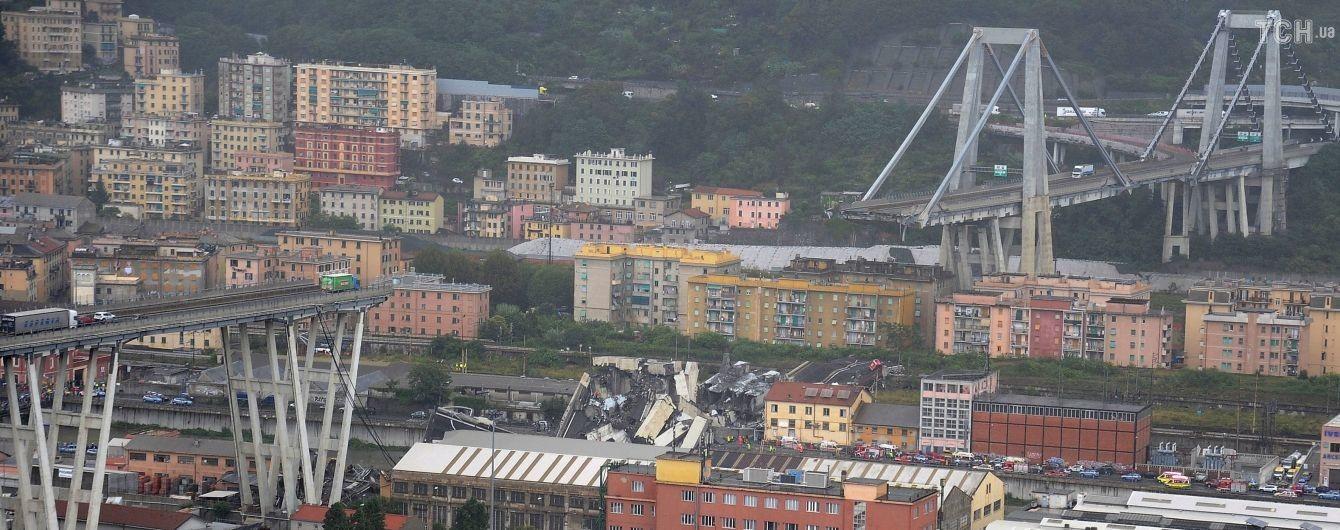 ТСН показала эксклюзивные кадры спасения украинки из-под завалов рухнувшего моста в Генуе