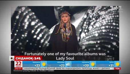 Співачка Мадонна публічно осоромилася на музичній премії