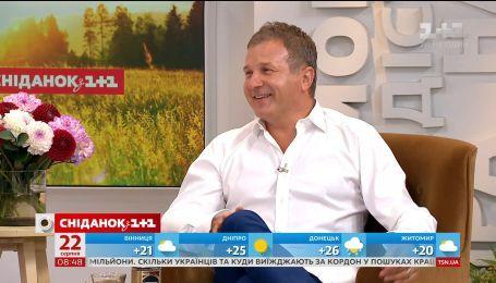 Юрій Горбунов розповів про фотосесію з сином і як обирав йому ім'я