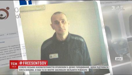 На підтримку Сенцова 7 чеських кінематографістів оголосили тимчасове голодування