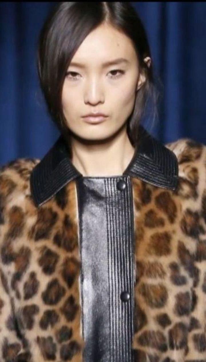 На світові подіуми повернувся одяг із леопардовим принтом