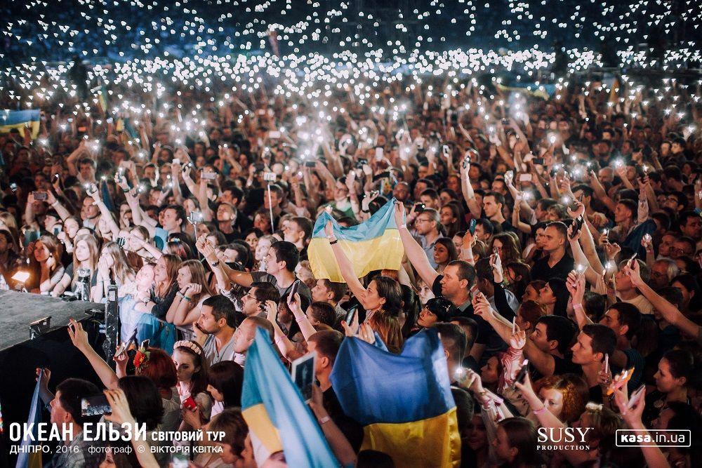 Вакарчук закликав звільнити Сенцова і присвятив йому пісню під час концерту— відео