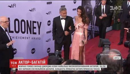 Джорджа Клуні визнали найбагатшим актором Голлівуду