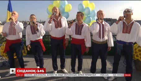 Гимн Украины в исполнении мужского коллектива ManSound