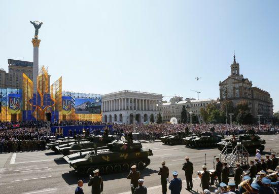 Військовий парад незалежності. Як відбувалася головна подія дня