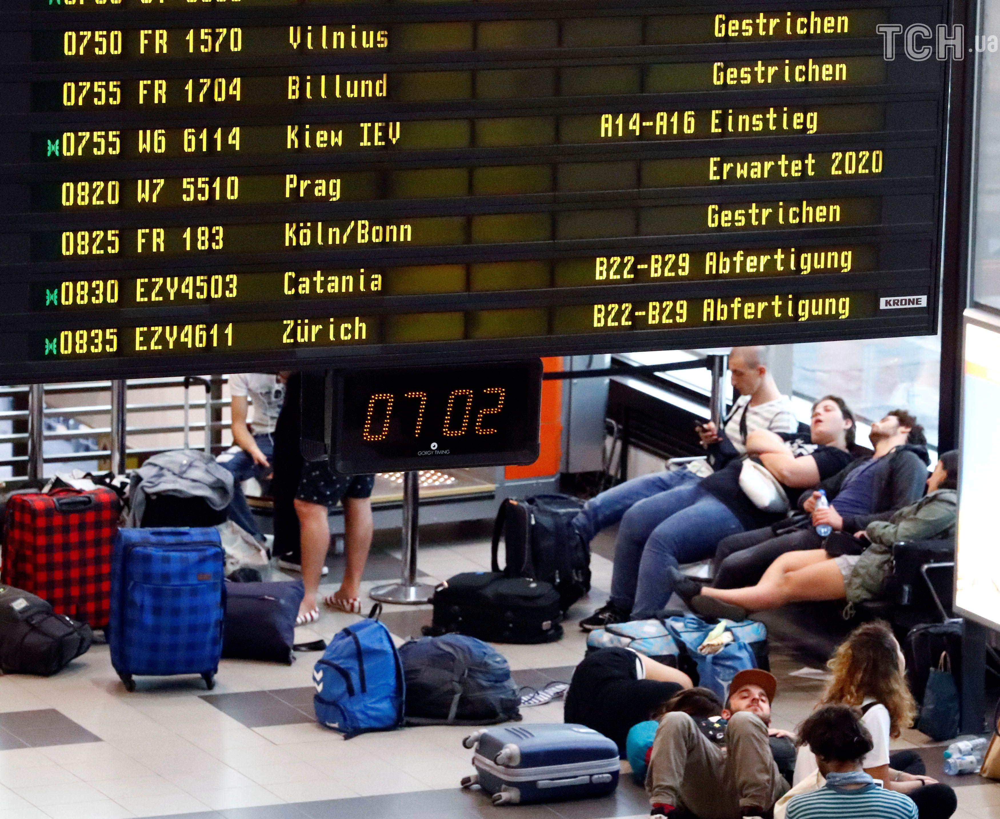 аеропорт, затримки, літак, Ryanair, скасовані рейси