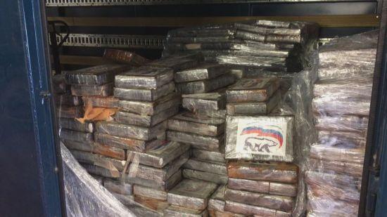 """Партію кокаїну з символікою """"Єдиної Росії"""" оцінили в 100 млн євро"""