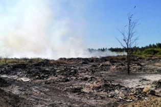 Эксперты обнаружили сразу несколько следов поджогов на свалке в Балаклее