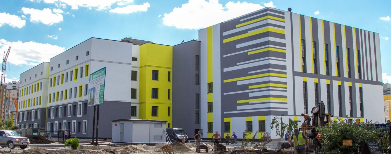 Підігрів сходів і олімпійські басейни. В Україні будують школи, які вражають своїми захмарними бюджетами