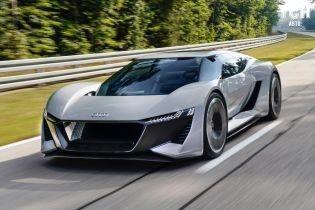 В Audi похвастались концептуальным электрокаром