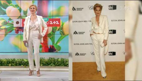Андре Тан воплотил три разных образа в стиле Шэрон Стоун - Правила моды