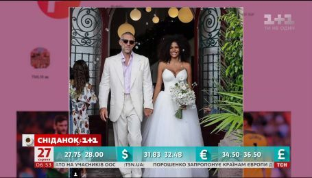51-летний Венсан Кассель женился на 21-летней модели Тине Кунаки