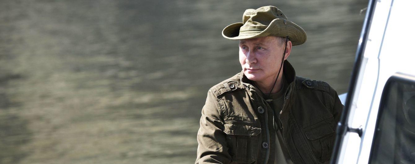Путин во время конференции с Курцом отмолчался о ситуации на Донбассе