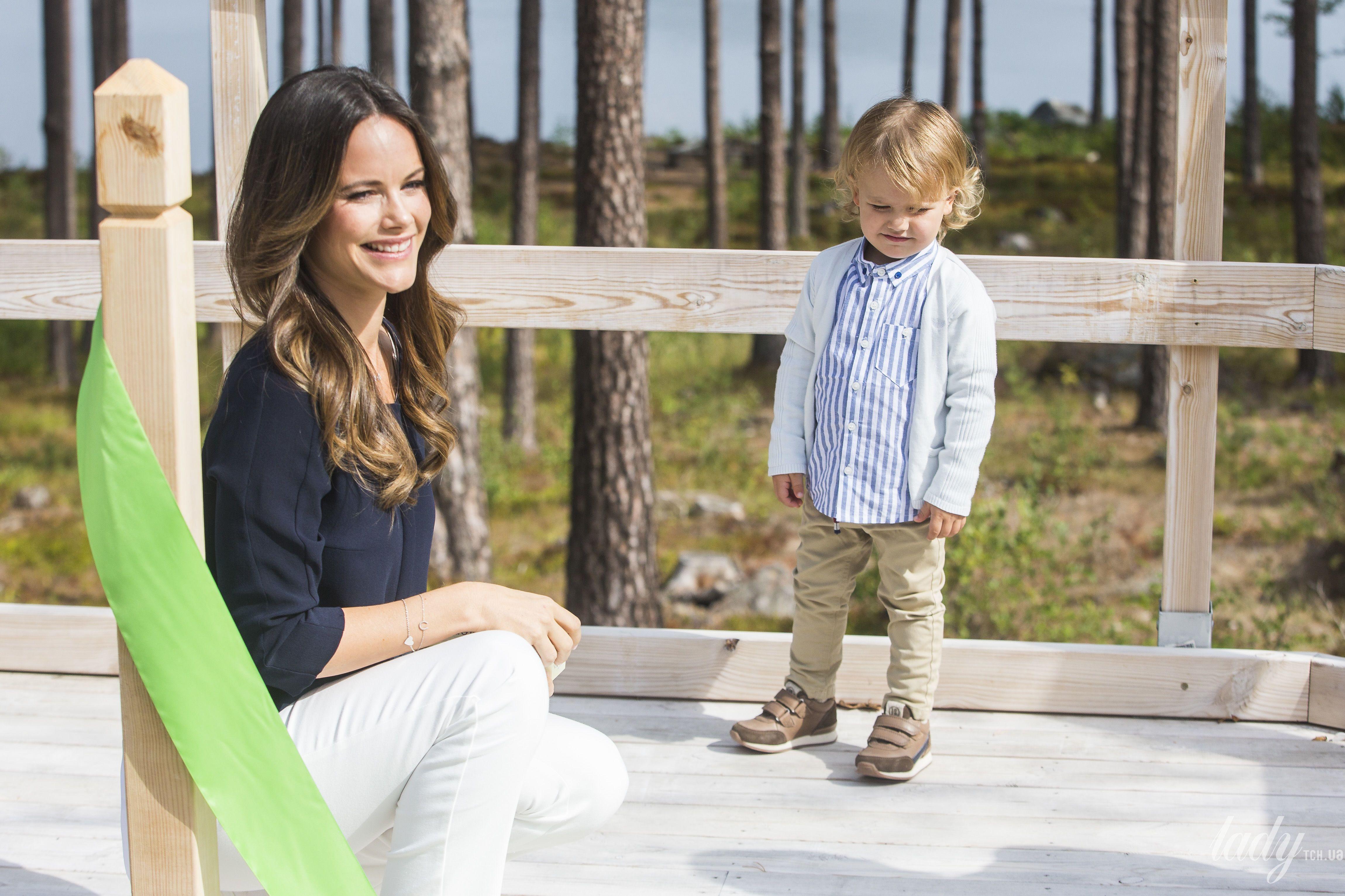 Принцесса София с сыном Александром_5