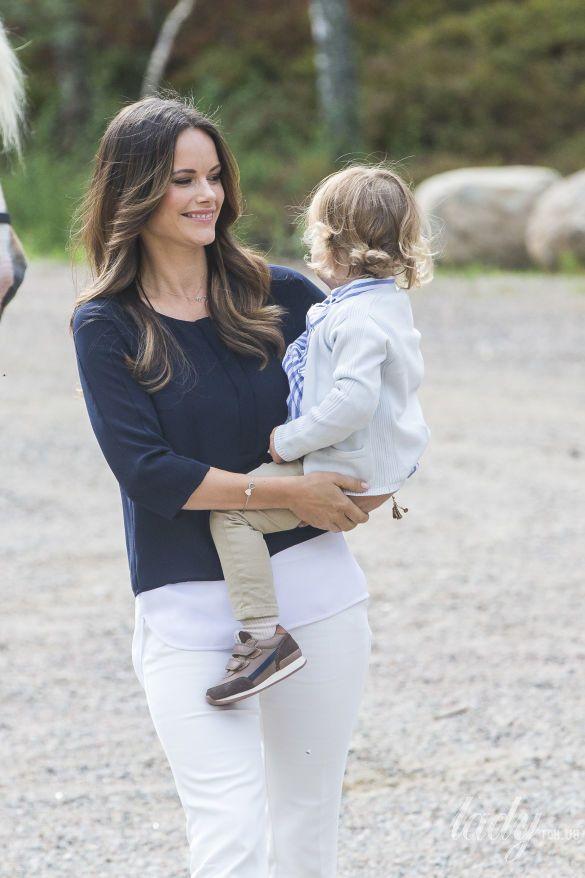 Принцесса София с сыном Александром_1