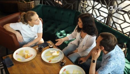 Елена Шоптенко встретилась со своими преподавателями