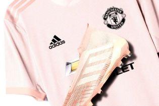 """""""Розовый снова в моде"""". """"Манчестер Юнайтед"""" показал новую форму"""