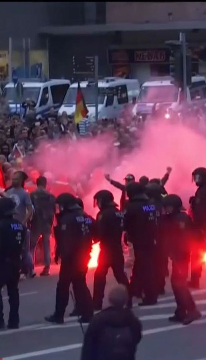 У Німеччині праворадикали зіштовхнулися з представниками лівих сил, є поранені