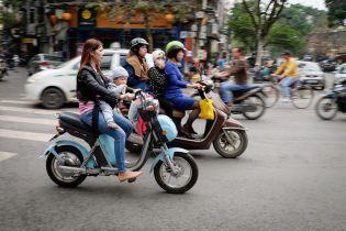 Во Вьетнаме планируют отказаться от двухколесного транспорта